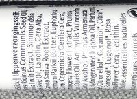 Stick Soin éclat Lèvres - Ingredients - fr