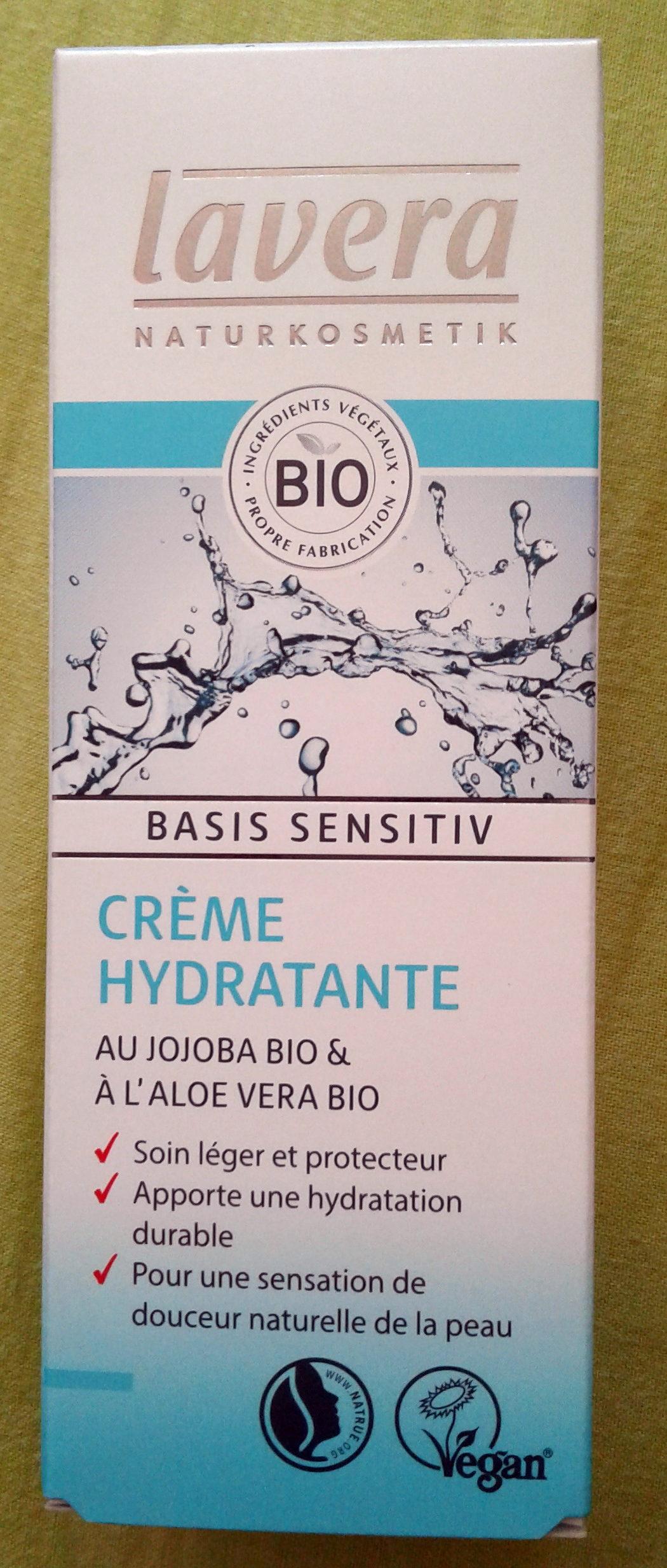 Crème hydratante - Produit