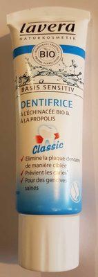 Dentifrice Basis sensitiv à l'échinacée bio et à la propolis - Produit