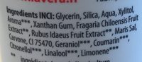 Dentifrice enfants à la fraise bio & framboise bio - Ingredients