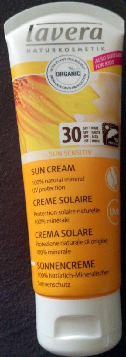 Crème solaire 30 SPF 100% minérale - Produit