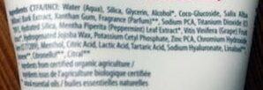 3 En 1 Nettoyant - Gommage - Masque - Ingrédients