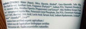 3 En 1 Nettoyant - Gommage - Masque - Ingredients - fr