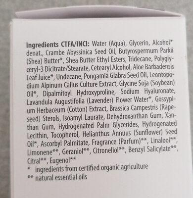 Straffende Tagespflege - Ingredients - de