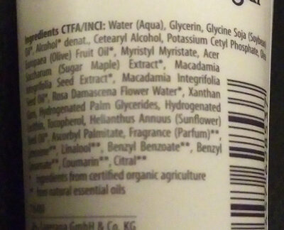 Händchenhalten Handcreme - Ingredients - de
