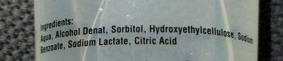Just Glide - Ingredients
