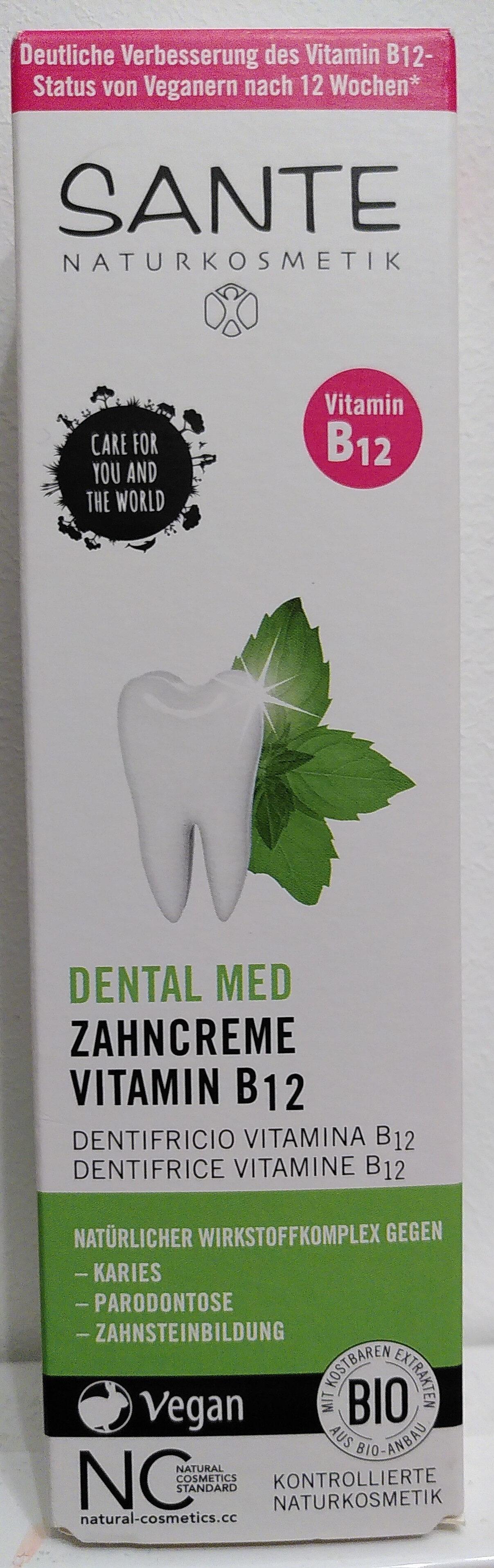 Dental Med Zahncreme Vitamin B12 - Produit - de