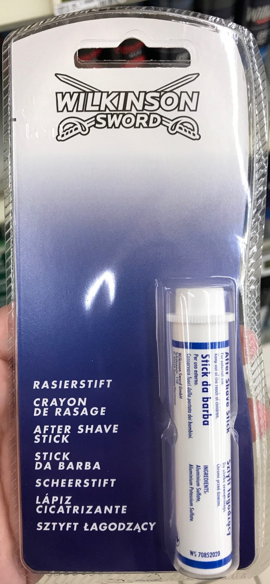 Crayon de rasage - Produit