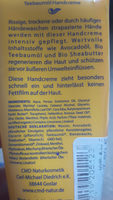 Teebaumöl - Classik Hand Creme - Ingredients