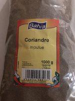 Coriandre moulue - Product