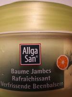 baume jambes rafraîchissant - Product - fr