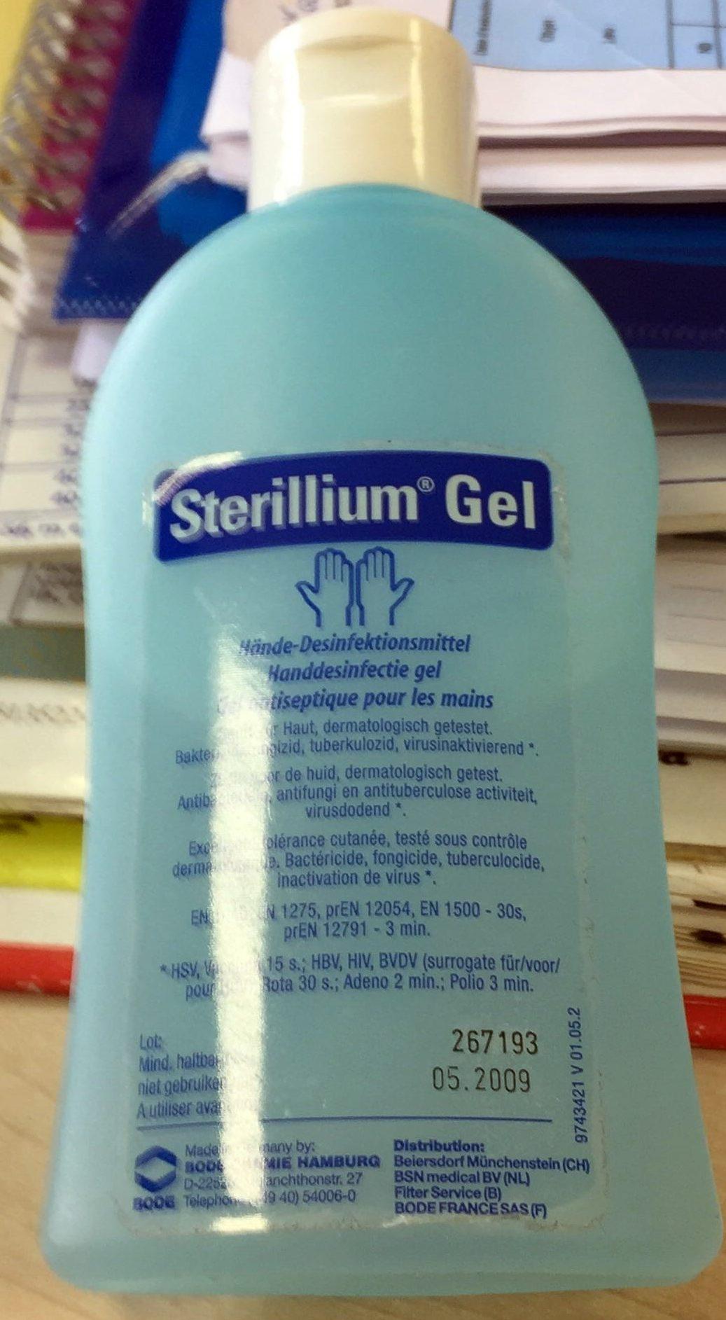Sterillium Gel - Product - fr