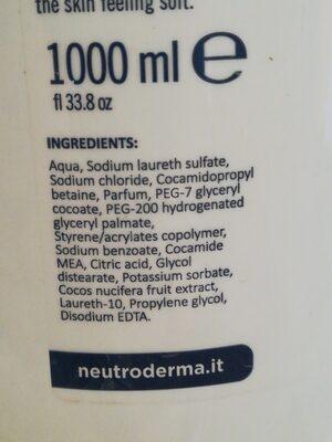 Sapone latte di cocco - 4