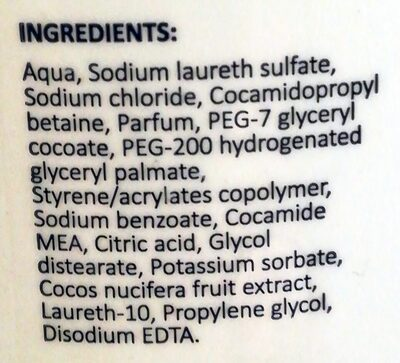 Sapone latte di cocco - Ingredients - it