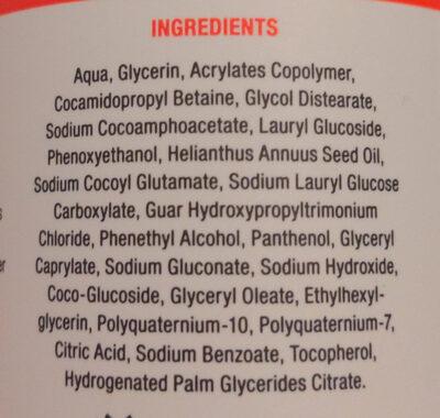 2in1-Bart-Shampoo - Ingredients - de