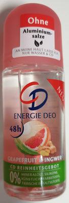 Energie Deo Grapefruit & Ingwer - Product - de