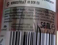 ECOME Deodorant - Ingredients - de