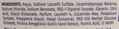 Cremeseife Mandelblüte - Ingredients - de