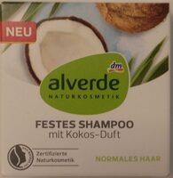 FESTES SHAMPOO mit Kokos-Duft - Product - de