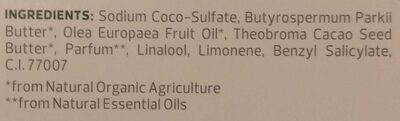FESTES SHAMPOO mit Kokos-Duft - Ingredients