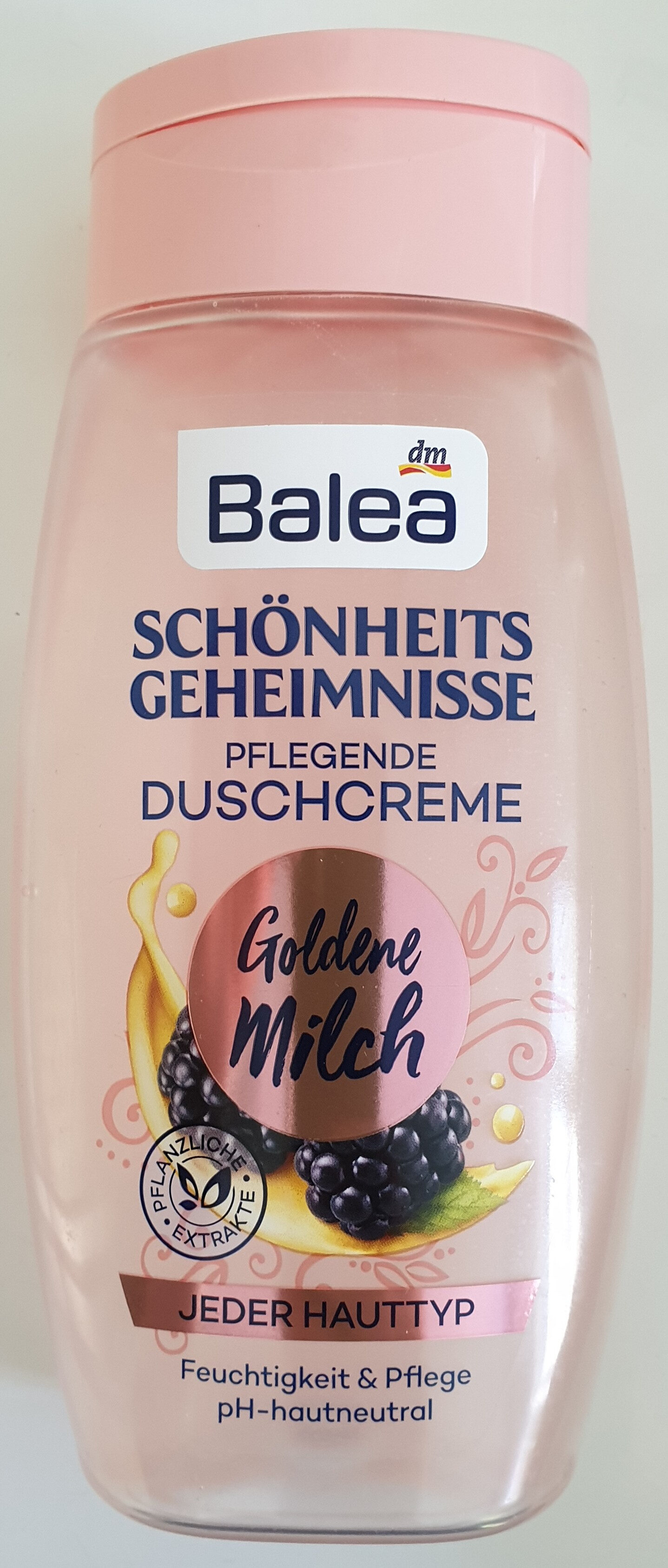 Schönheitsgeheimnisse Pflegende Duschcreme Goldene Milch - Product