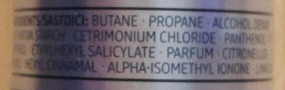 6in1 Trockenshampoo - Ingredients - de