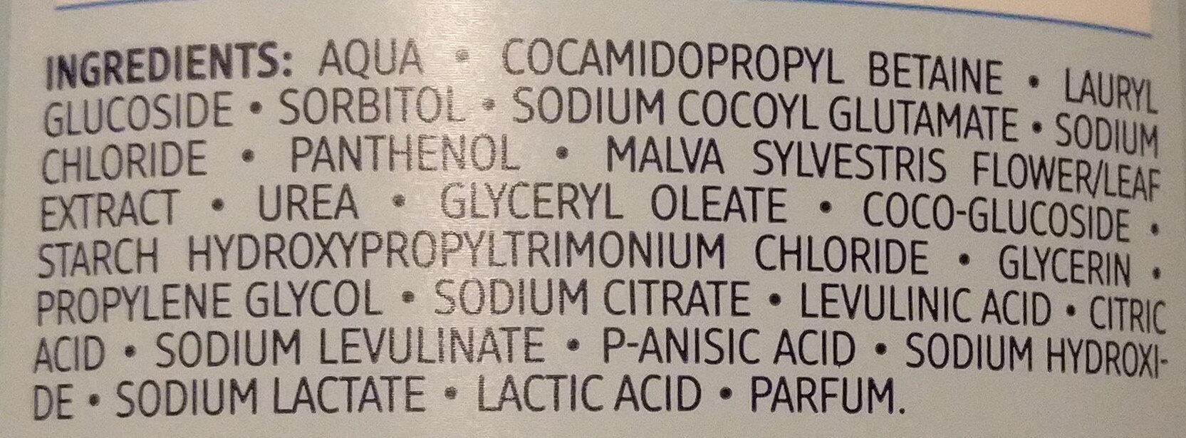 Reinigendes Waschgel - Ingredients