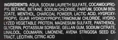 shampoo tiefenreinigend (menthol aktivkohle) - Ingredients - de