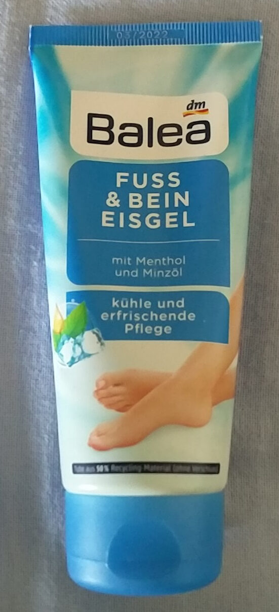 Fuß & Bein Eisgel - Produit - de