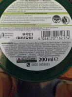 Körperbutter Bio-Kürbiskernöl & Moosbeere - Ingredients - de