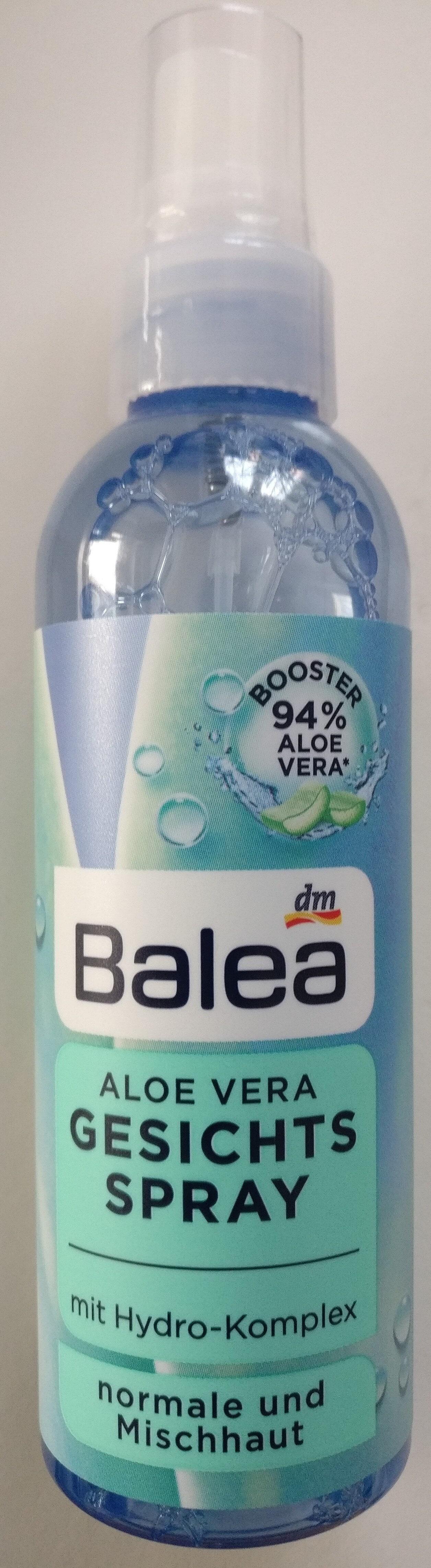 Gesichtsspray Aloe Vera - Product - en