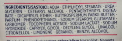 Handcreme Urea - Ingredients