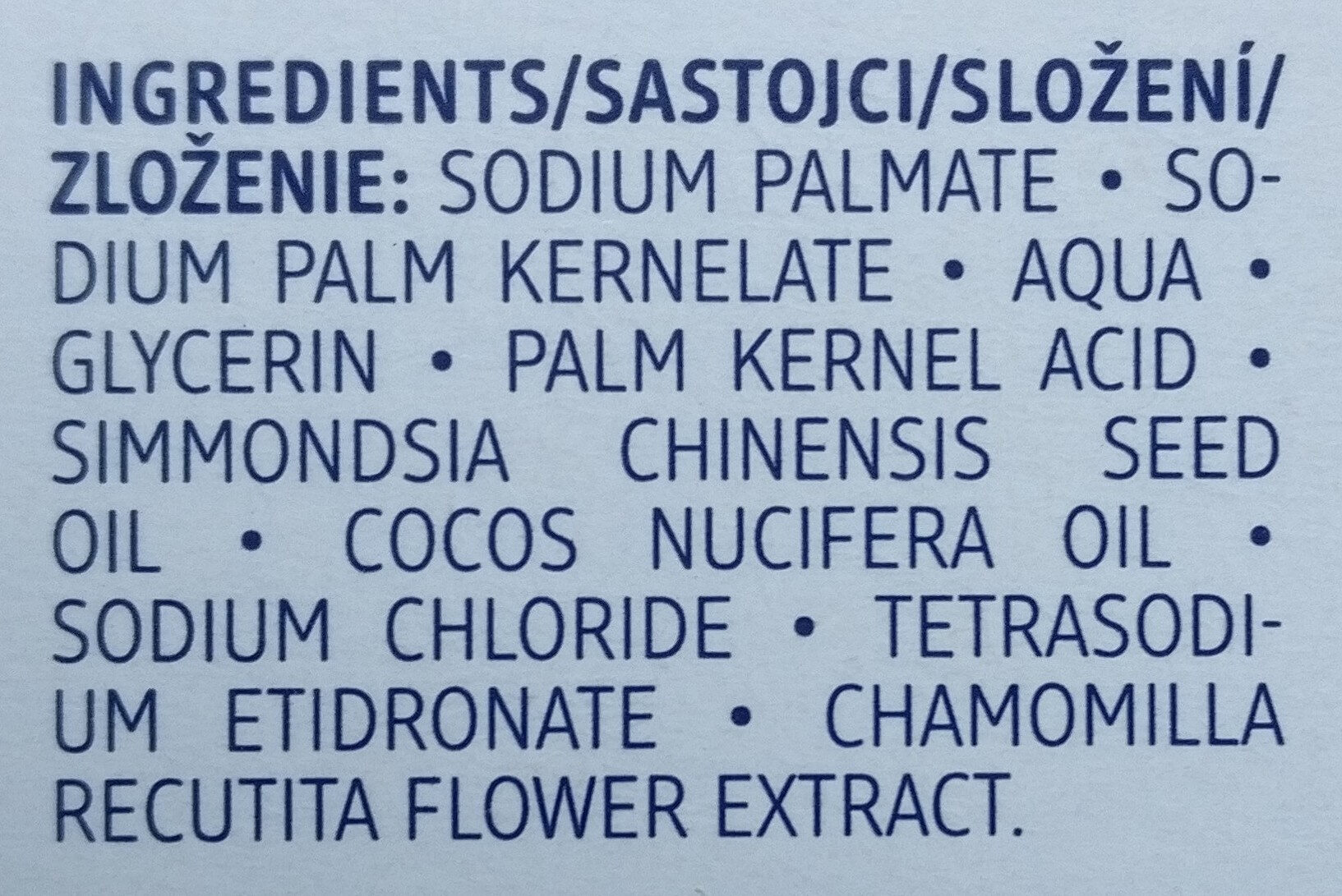 milde Seife - Ingredients
