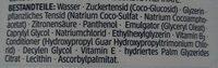 Ultra Sensitive Shampoo - Ingredients - de