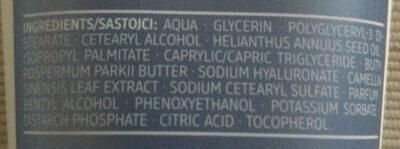 Handcreme Hyaluron - Ingredients - de
