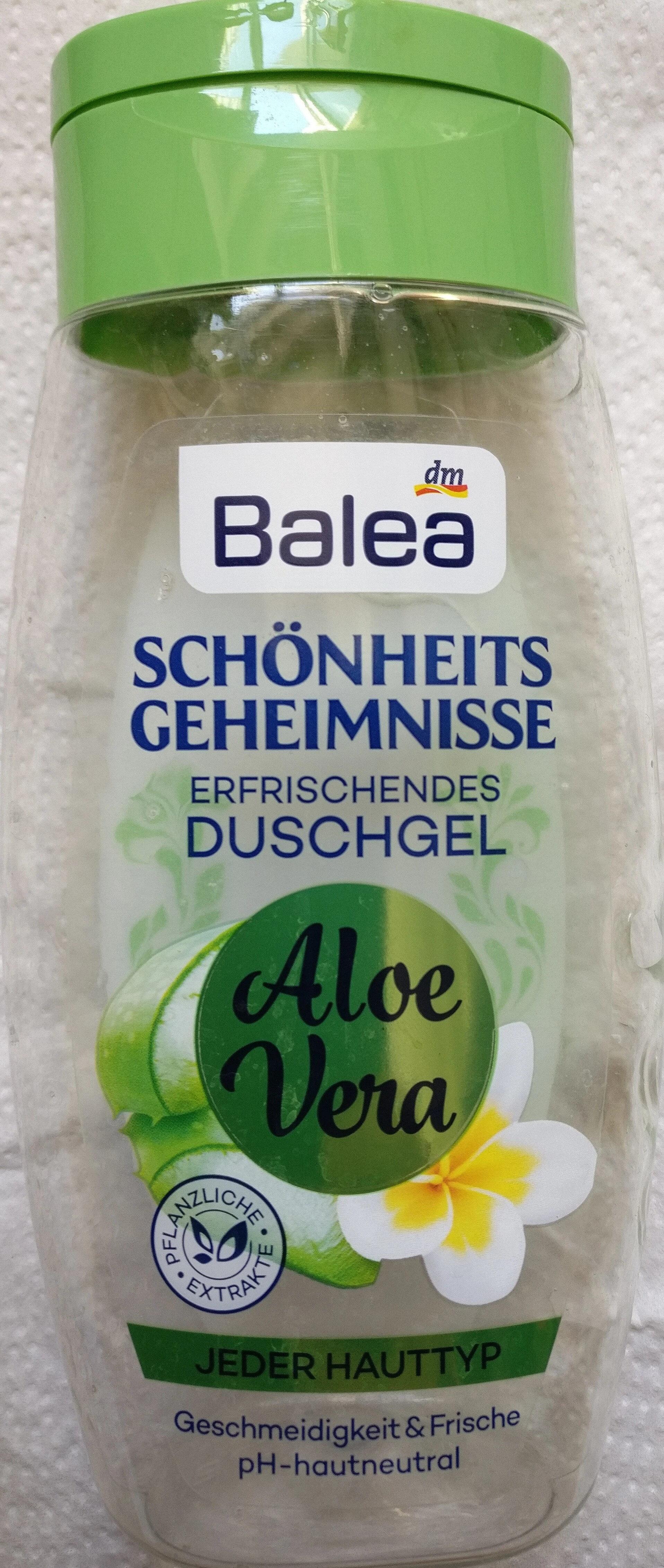 Dusche Schönheitsgeheimnisse Aloe Vera - Product - en