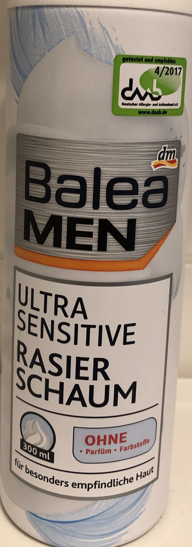 Ultra Sensitive Rasier Schaum - Product