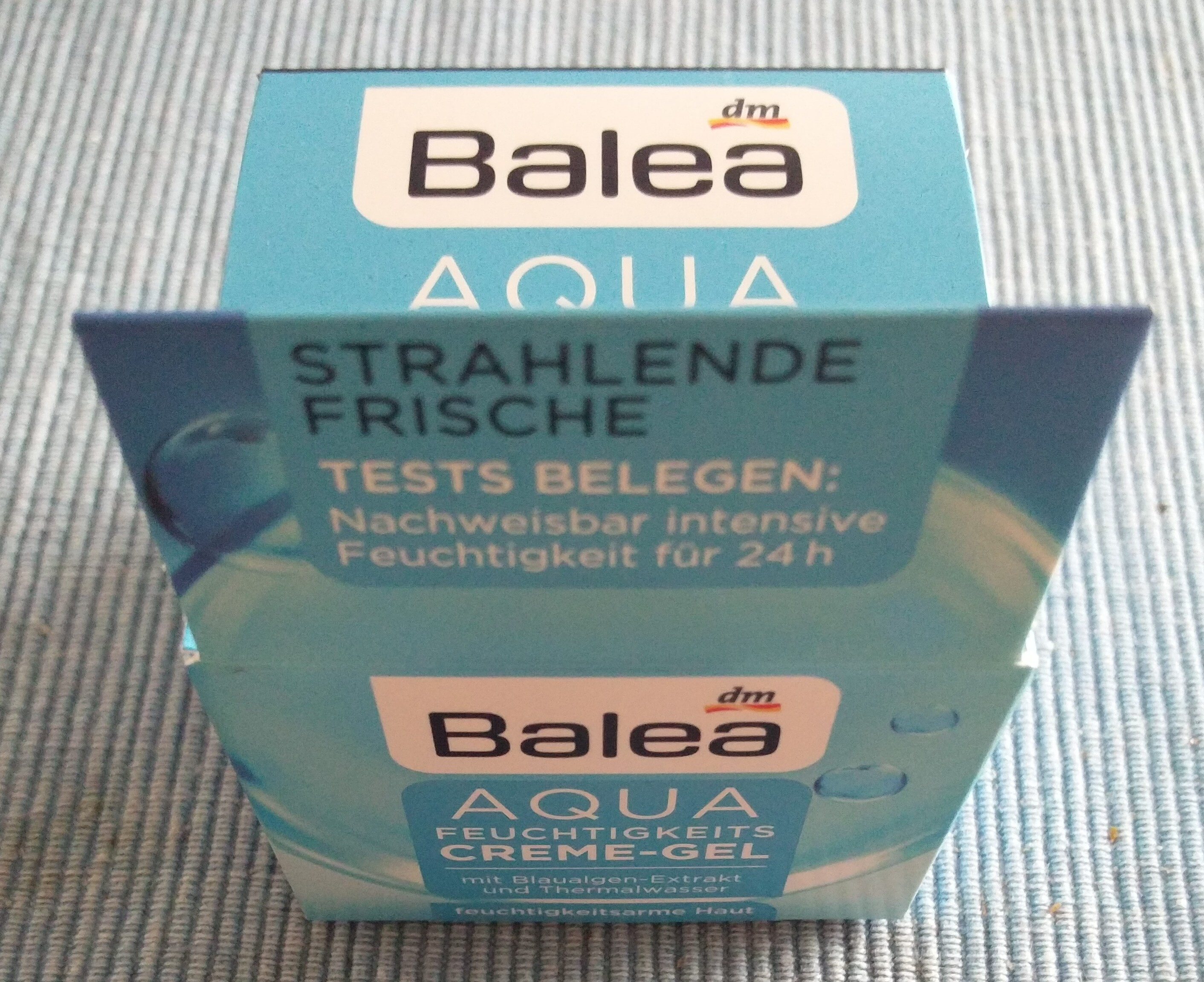 Aqua Feuchtigkeits Creme-Gel - Продукт - de
