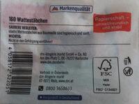 Wattestäbchen - Product - en