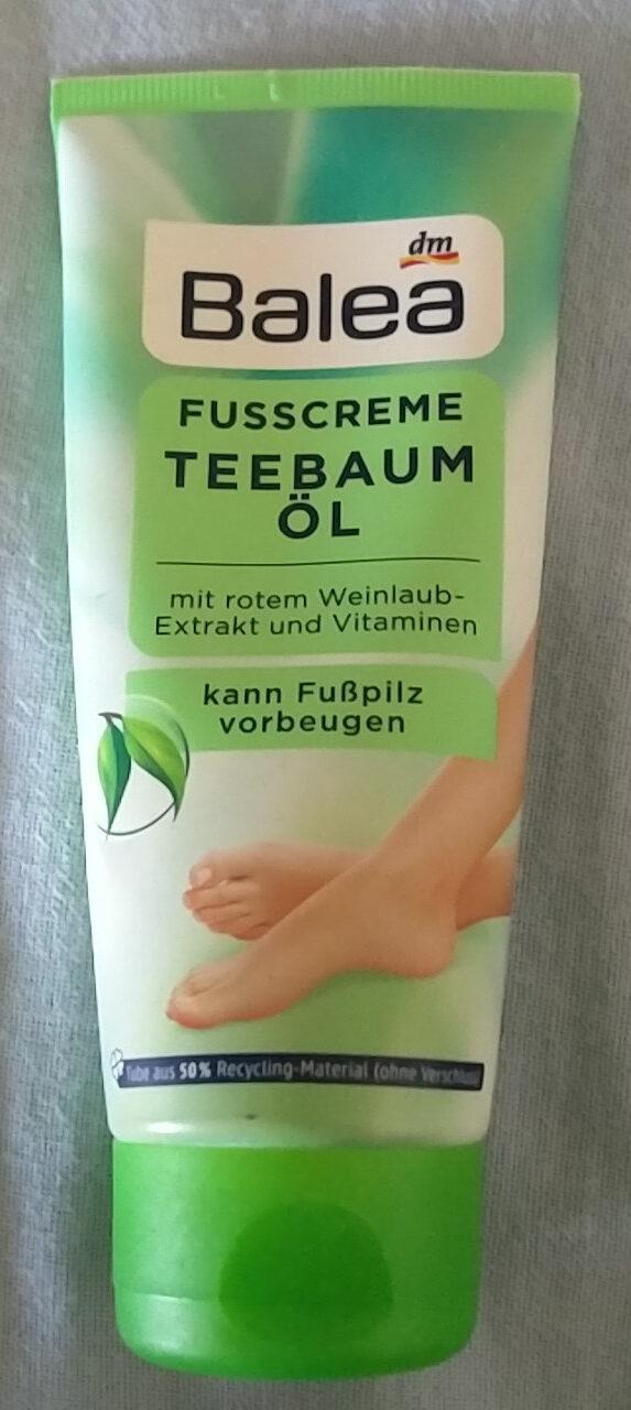 Fußcreme Teebaumöl - Продукт - de