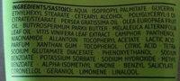 Fußcreme Teebaumöl - Ингредиенты - de