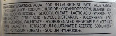 Cremeseife Sensitive (mit Aloe Vera) - Ingredients - de