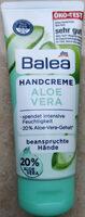 Handcreme Aloe Vera - Продукт - de