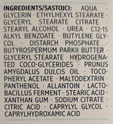 Ultra Sensitive mattierende 24h-Pflege (für unreine Haut) - Ingrédients - de
