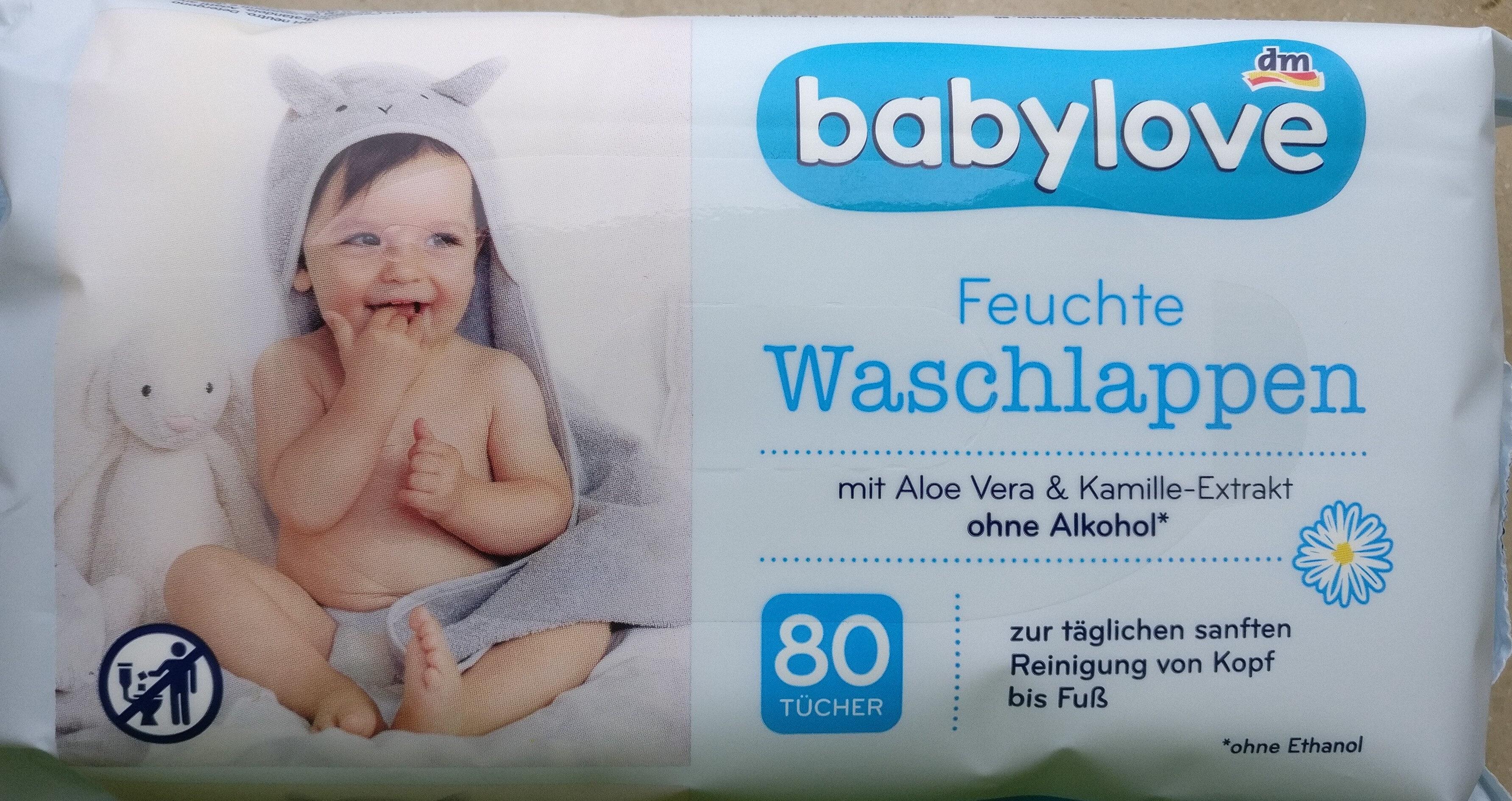 Feuchte Waschlappen - Produit - de