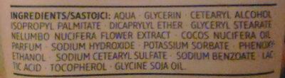 Handcreme Cocos & Lotosblüte - Ingredients - de