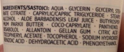 Ultra Sensitive Handcreme - Ingredients - de