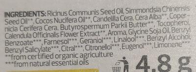 Lippen-Pflege Bio-Calendula - Ingredients - de