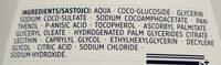 Ultra Sensitive Waschlotion - Ingredients - de