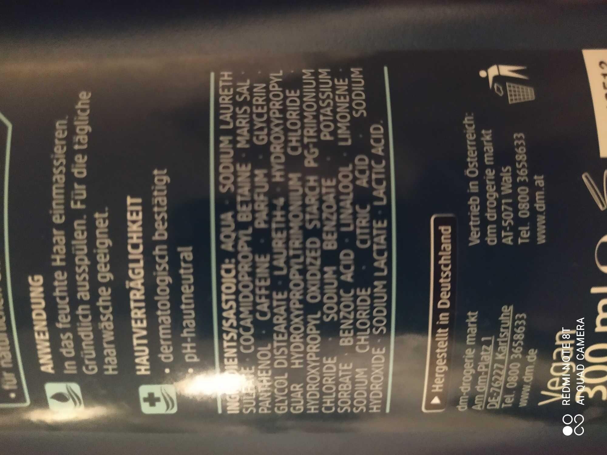 Balea m'en fresh Shampoo - Produit - fr